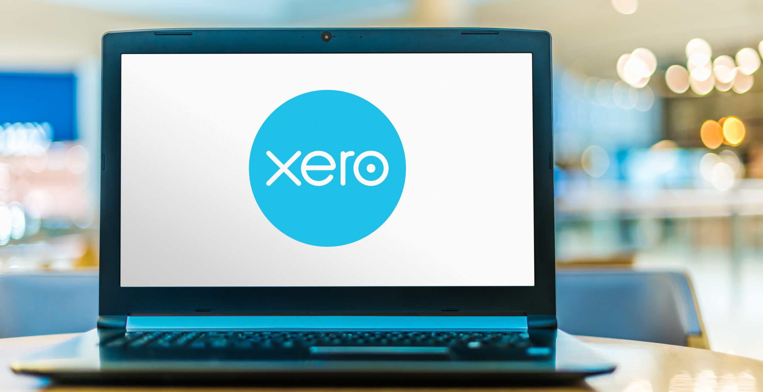POZNAN, POL - JUN 16, 2020: Laptop computer displaying logo of Xero, a New Zealand technology company, offering a cloud-based accounting software platform for small and medium-sized businesses